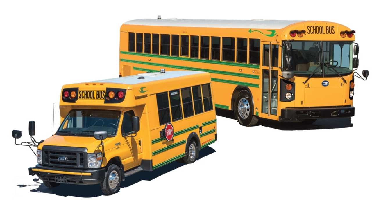 Blue Bird Delivers First Electric School Buses In North America
