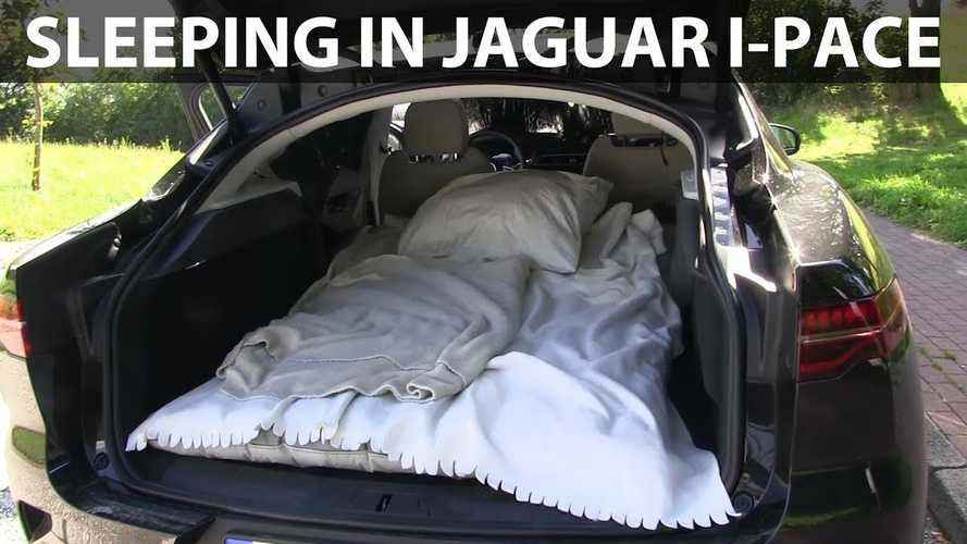 Can You Sleep In A Jaguar I-Pace? Let's Find Out