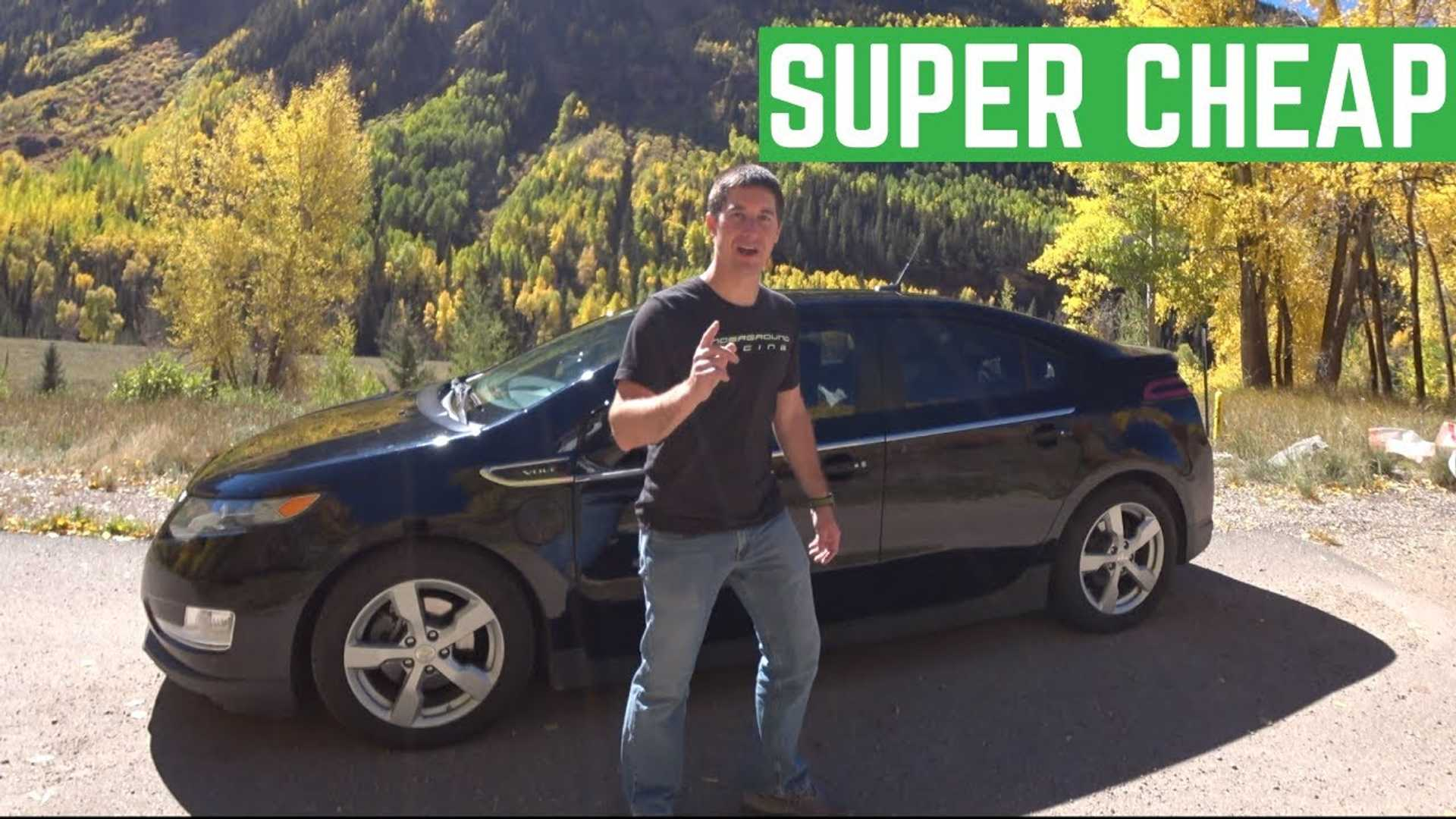 Is The Chevy Volt Your Best Bet For A Used $15,000 Car?