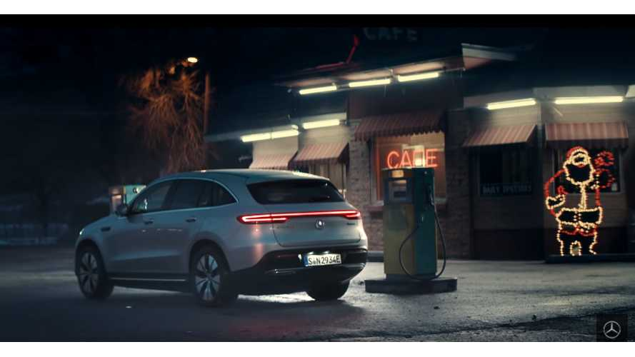 Mercedes-Benz EQC: Drive Silently, Celebrate Loudly In Song: Video