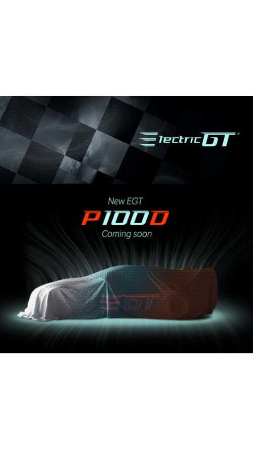 Electric GT To Debut V2.0 Tesla Model S P100D In UK On January 12