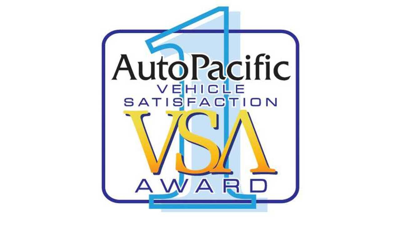 AutoPacific Vehicle Satisfaction Awards
