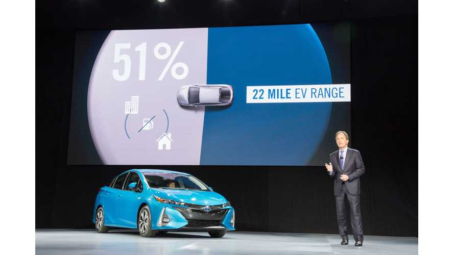 Toyota Prius Chief Engineer Hopes To Charge Up Plug-In Version Sales