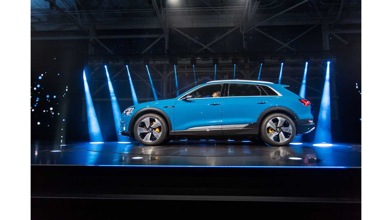 Audi Receives 10,000-Plus Pre-Orders For e-tron