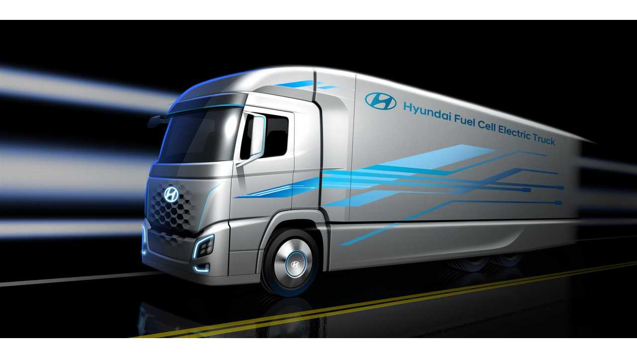Hyundai Reveals Render Of Fuel Cell Truck For 2019