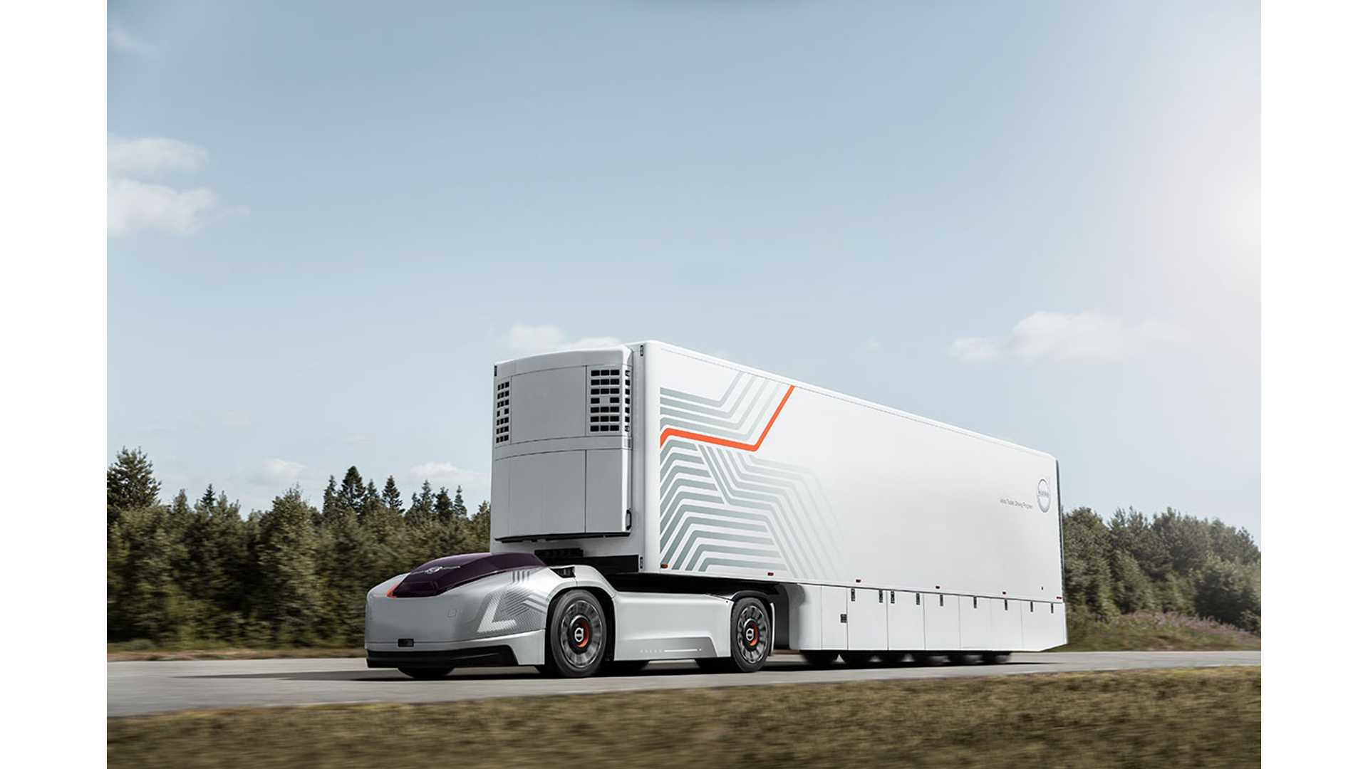 Volvo Trucks: autonomous electric vehicle Vera