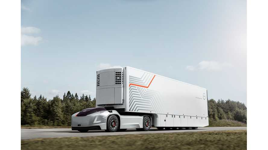Volvo Trucks Vera Semi Is Impossible To Drive: Video