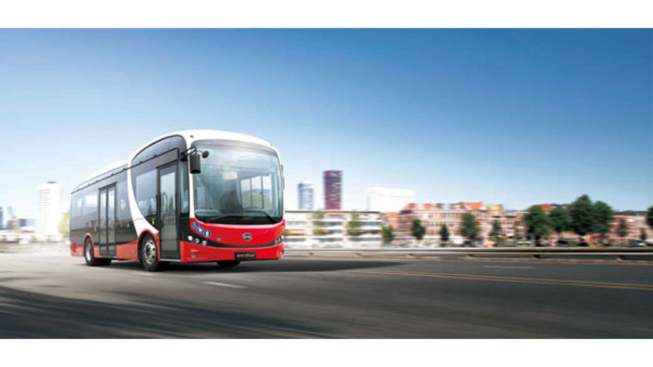 BYD 8.7M Pure Electric Bus
