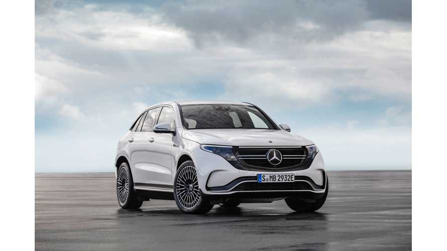UPDATE: 2020 Mercedes-Benz EQC Revealed: Range Estimated At 200 Miles
