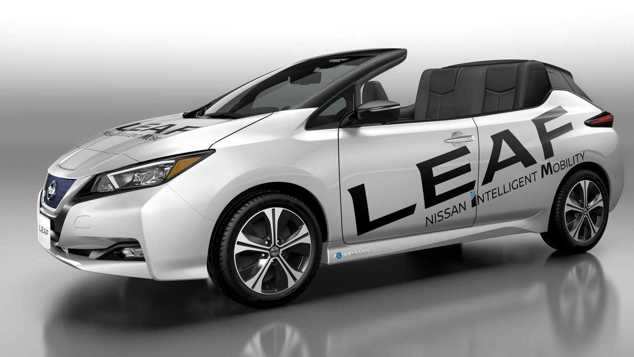 Nissan Reveals LEAF Convertible - It Sure Is Ugly