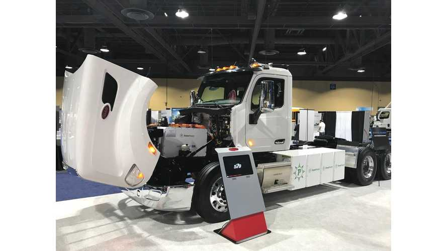Peterbilt Gets Ready To Enter Electric Semi Truck Segment