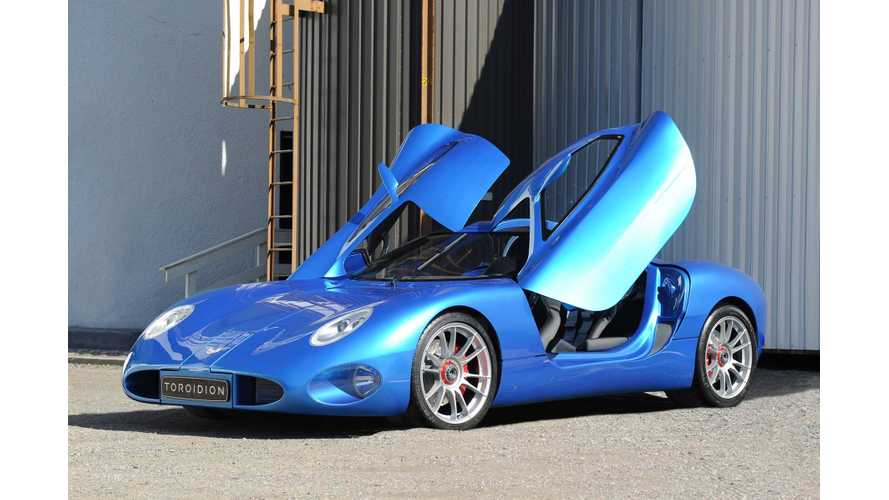 Toroidion 1 MW Electric Car Hits The Road - Video