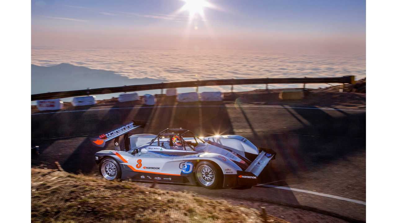 Rhys Millen In eO PP03 Made History With Pikes Peak Qualification Win