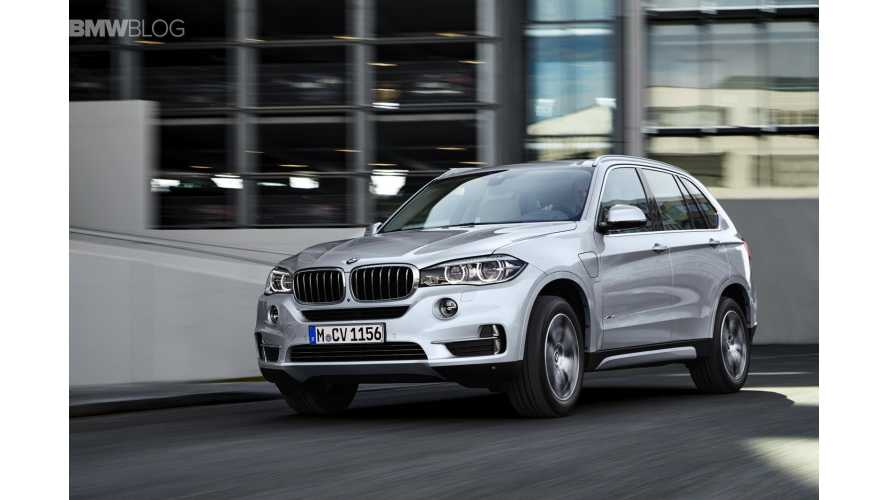 BMW X5 xDrive40e Priced From 68,400 Euros ($76,925) in Germany