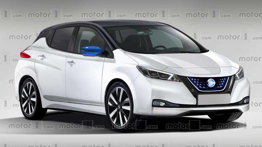 2018 Nissan LEAF Rendered
