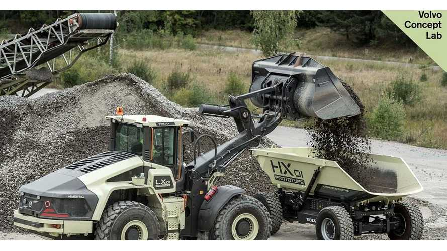 The Future Of Gold Rush? Volvo CE Unveils It Autonomous Electric Load Carrier HX2