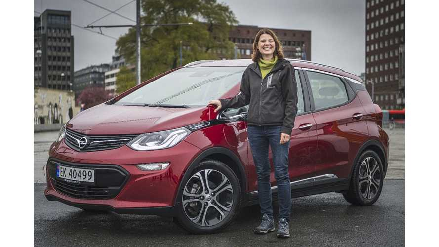First Opel Ampera-E Deliveries Get Underway In Norway