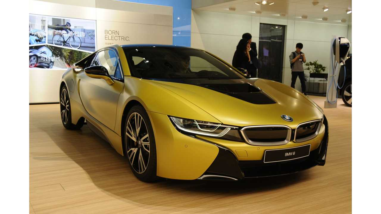 3 Special Edition BMW i8s Will Be Sold In U.S.