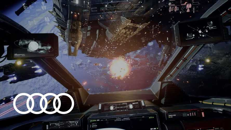 Audi Holoride Tech Transforms Road Trips Into VR Gaming: Video