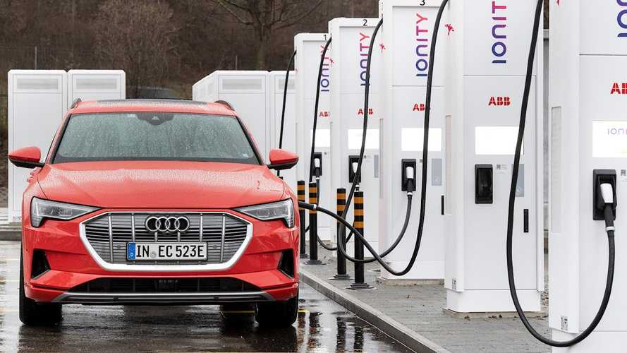 Audi Announces e-tron Charging Service