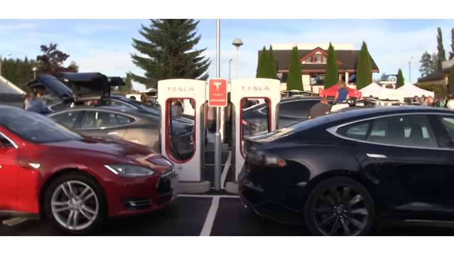 "UPDATE: Tesla ""Takes Action"": 40 Cents/Minute Charge To Stop Supercharger Hogging"