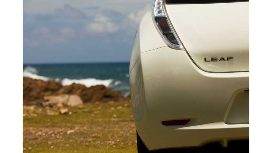 Nissan LEAF US Sales October 2014 - LEAF Becomes Undisputed King Of Single-Year Sales