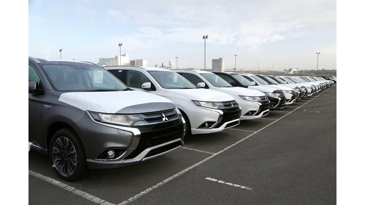 U.S. Launch Of Mitsubishi Outlander PHEV Delayed Again