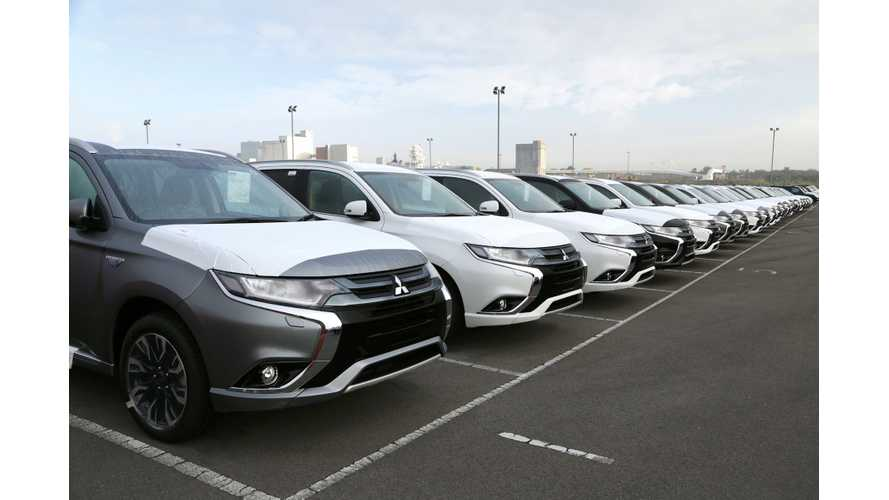 U.S. Launch Of Mitsubishi Outlander PHEV Delayed Again