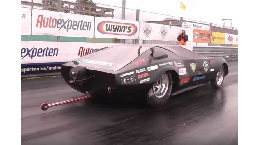 World's Quickest Car Is Electric - Covers 1/8th-Mile In 5.74 Seconds - Video