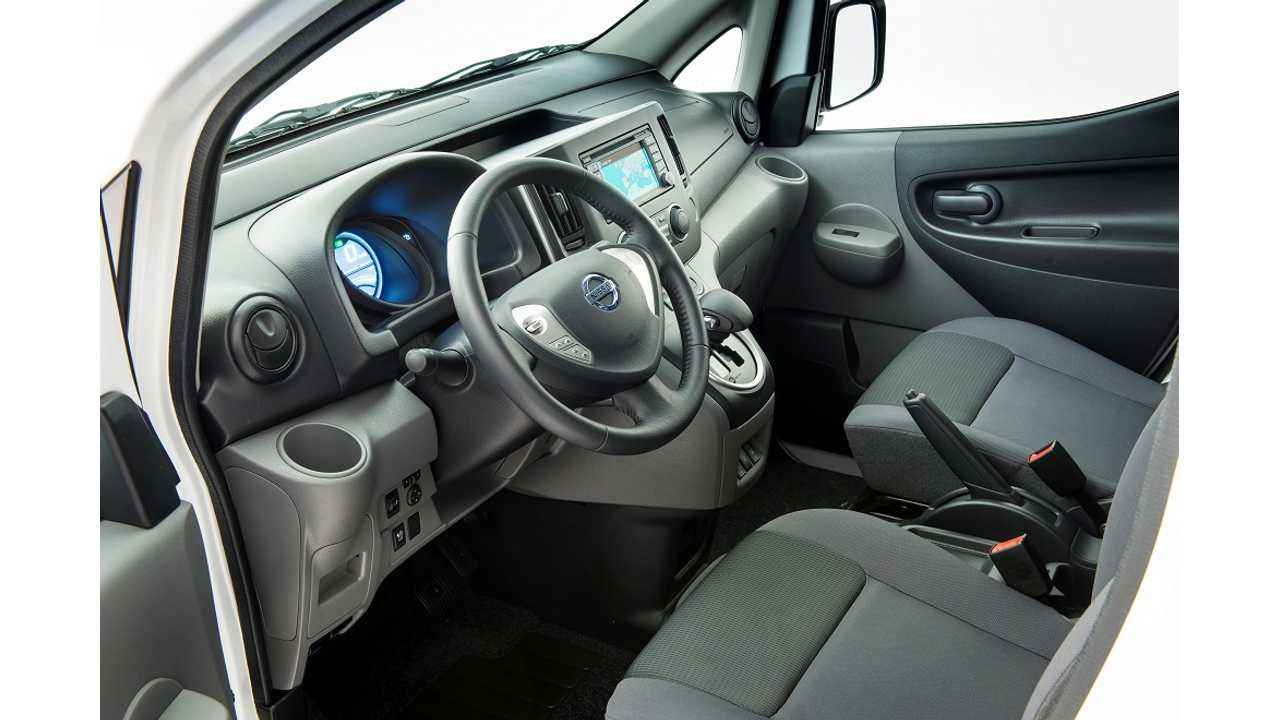 Nissan E Nv200 Interior