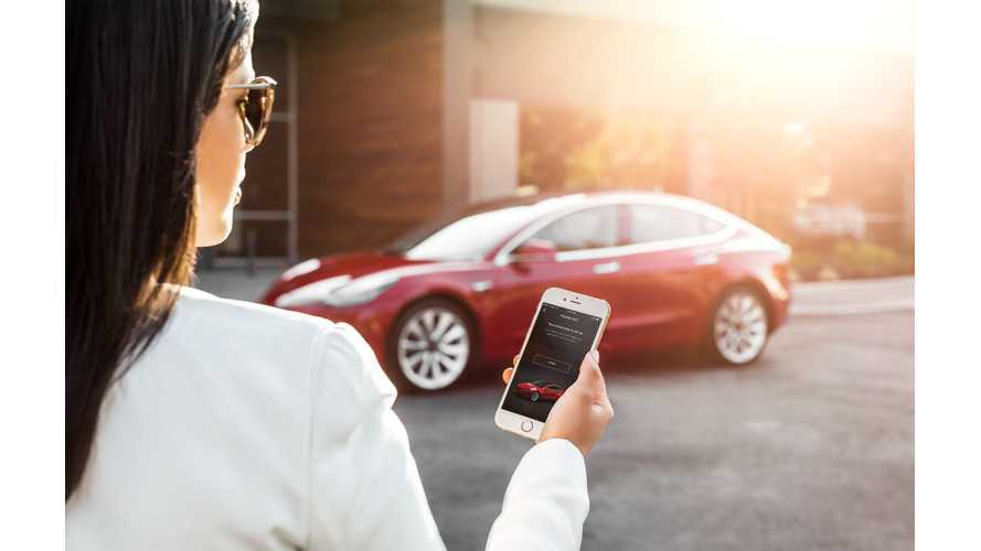 Tesla Model 3 Mobile Phone App Details Begin To Emerge