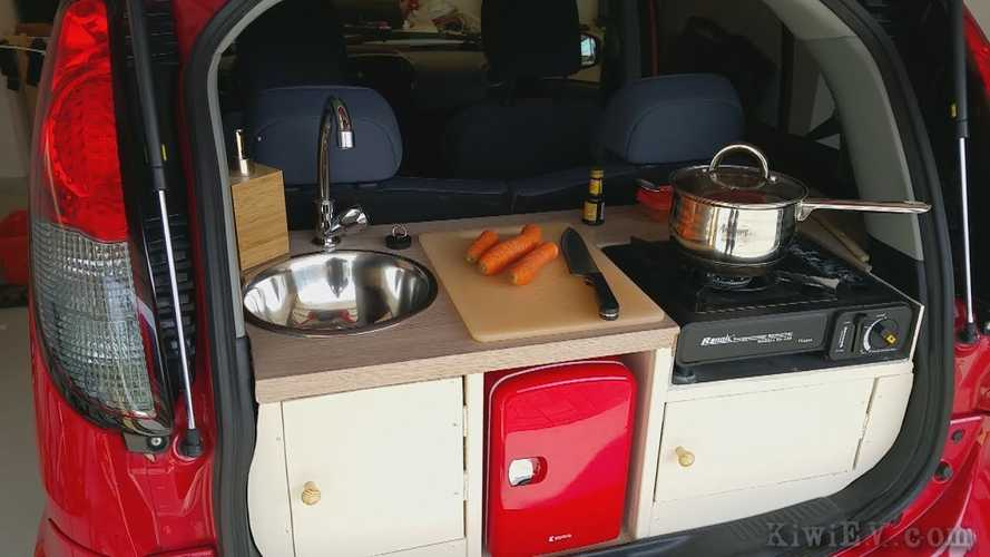 Peugeot Ion Electric Gets A Kitchen