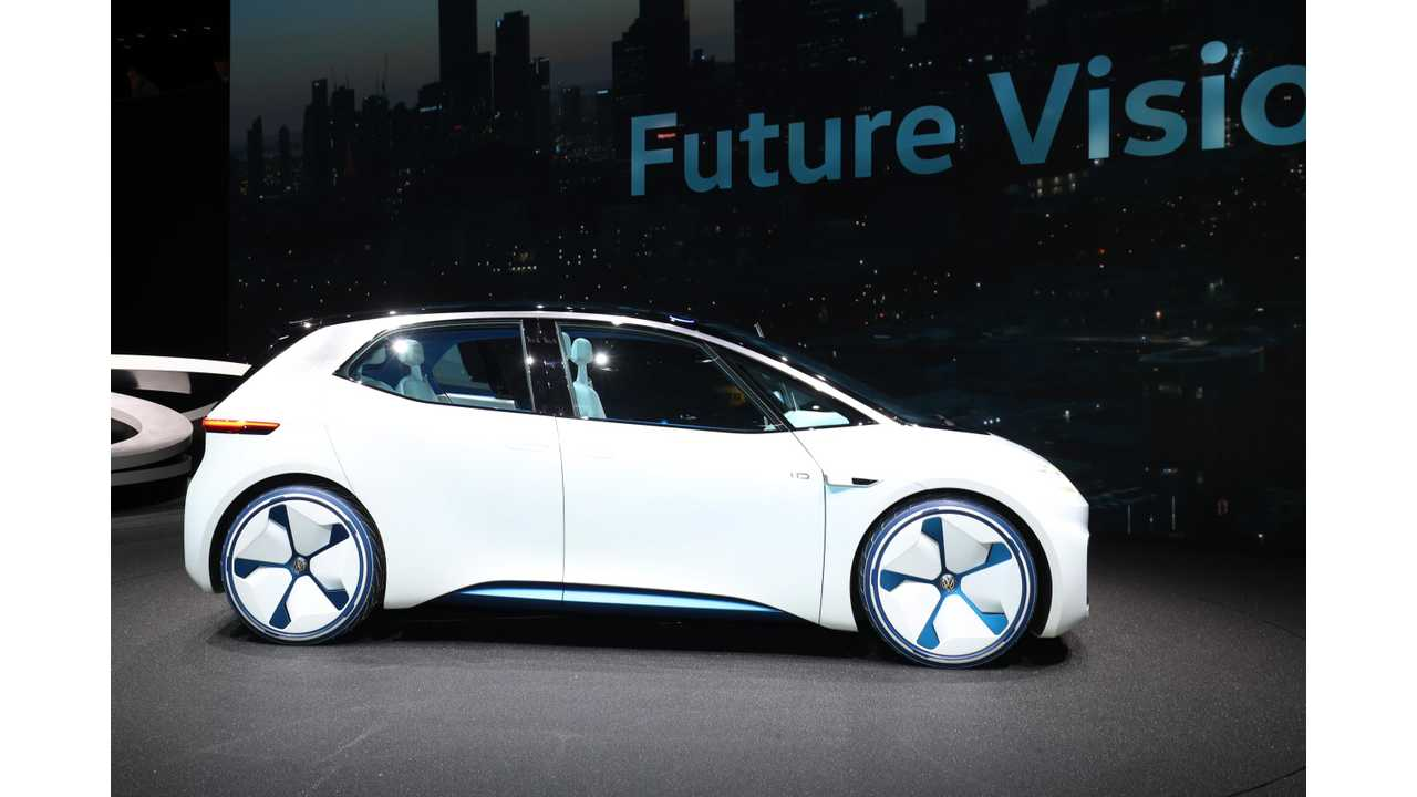 Volkswagen Will Begin Production Of I.D. Prototypes This April