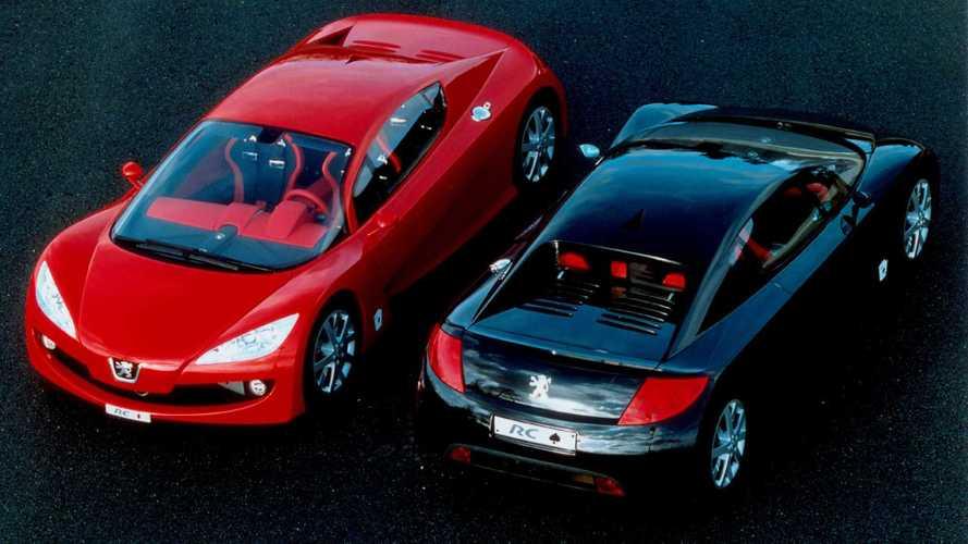 Peugeot RC Diamonds и RC Spades: 2 карты из одной колоды