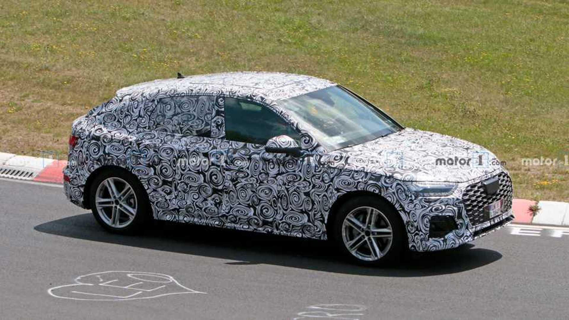 2020 - [Audi] Q5 Sportback - Page 7 2021-audi-q5-sportback-spy-photo
