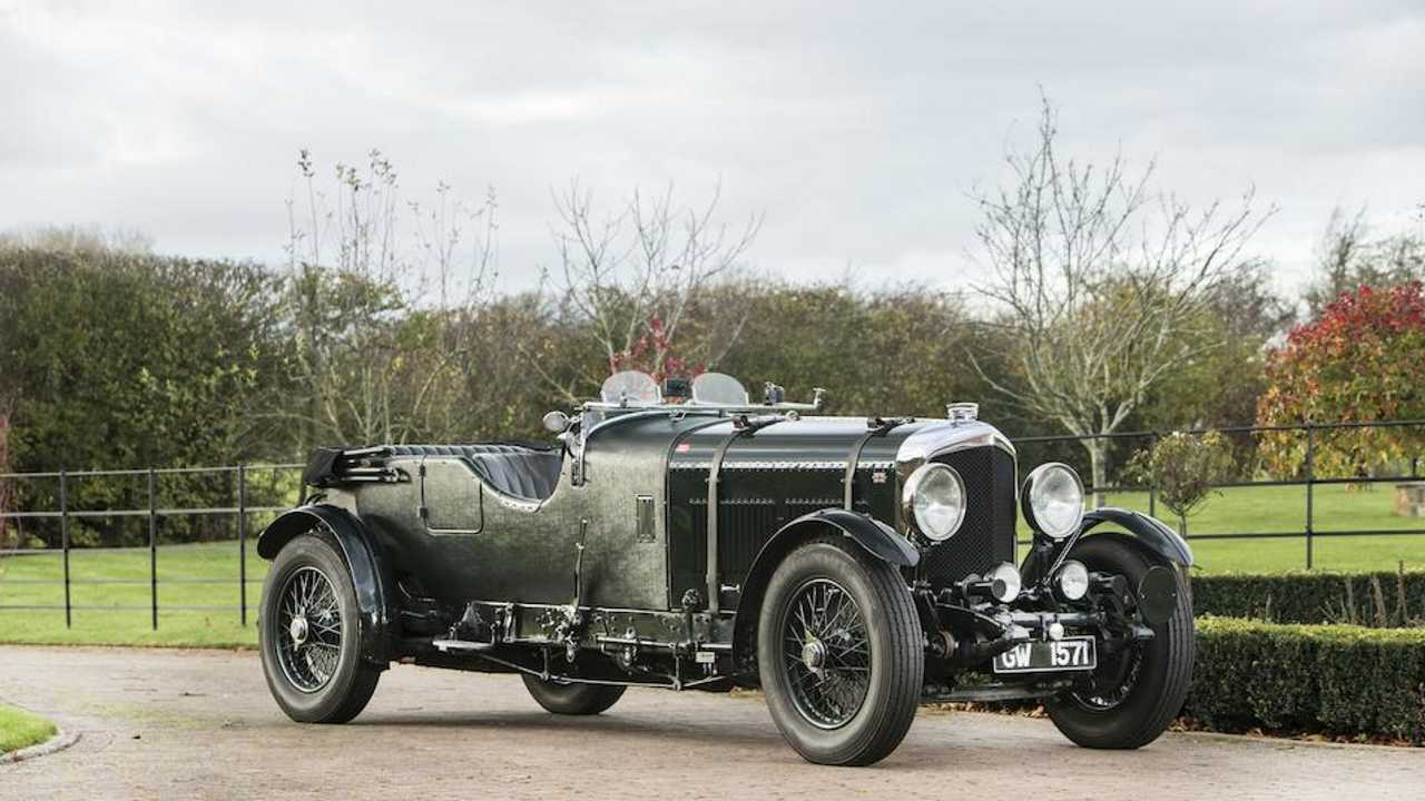 The 8-litre Bentley monster that marked the end of an era