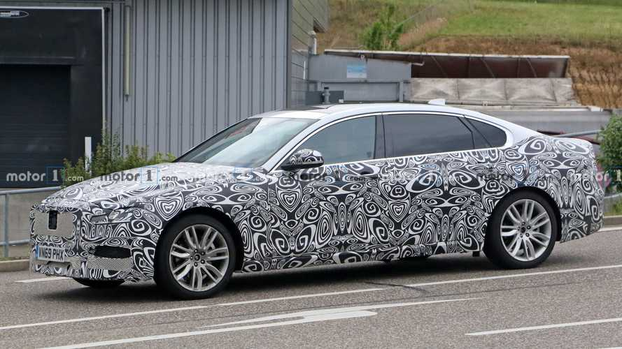 2021 Jaguar XF L, XF Sportbrake Spied Testing Together