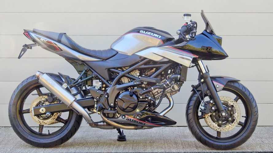 Suzuki: dal Giappone un kit per trasformare la SV650 in baby-Katana