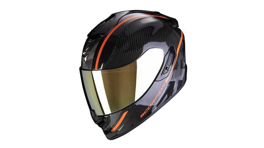 Scorpion Releases Sporty New EXO-ST1400 Carbon Fiber Helmet