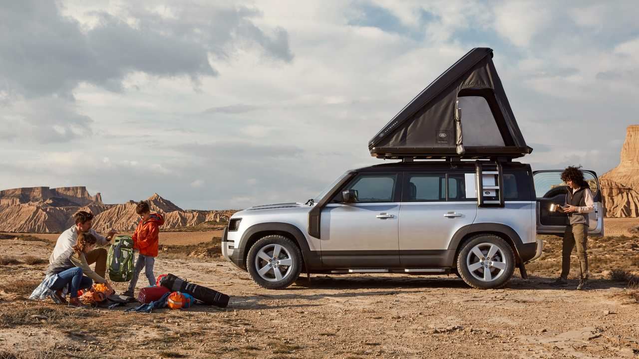Land Rover Defender 110 Rooftop Tent By Autohome
