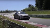 BMW M5 CS, capturas espía