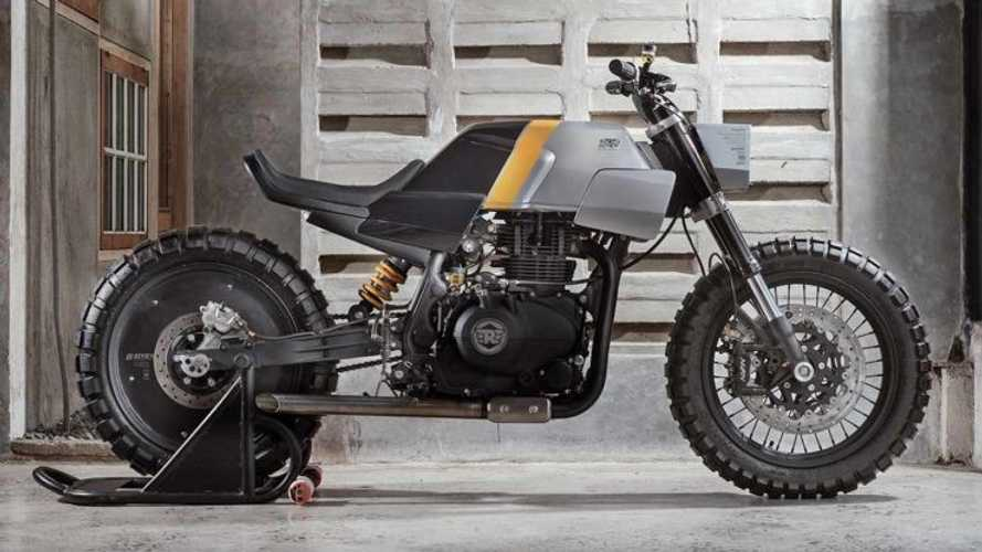 Architect Elevates Royal Enfield Himalayan With Tracker Build