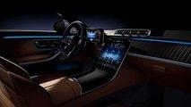 Intérieur complet de la Mercedes-Benz Classe S