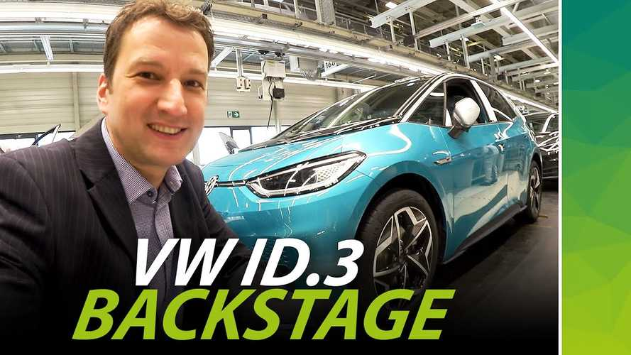 Take A Sneak Peek Inside The Recently Restarted VW ID.3 Production Facility