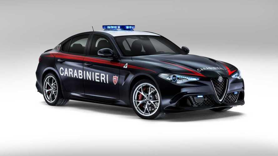 Le auto dei Carabinieri, ecco tutti i modelli in servizio