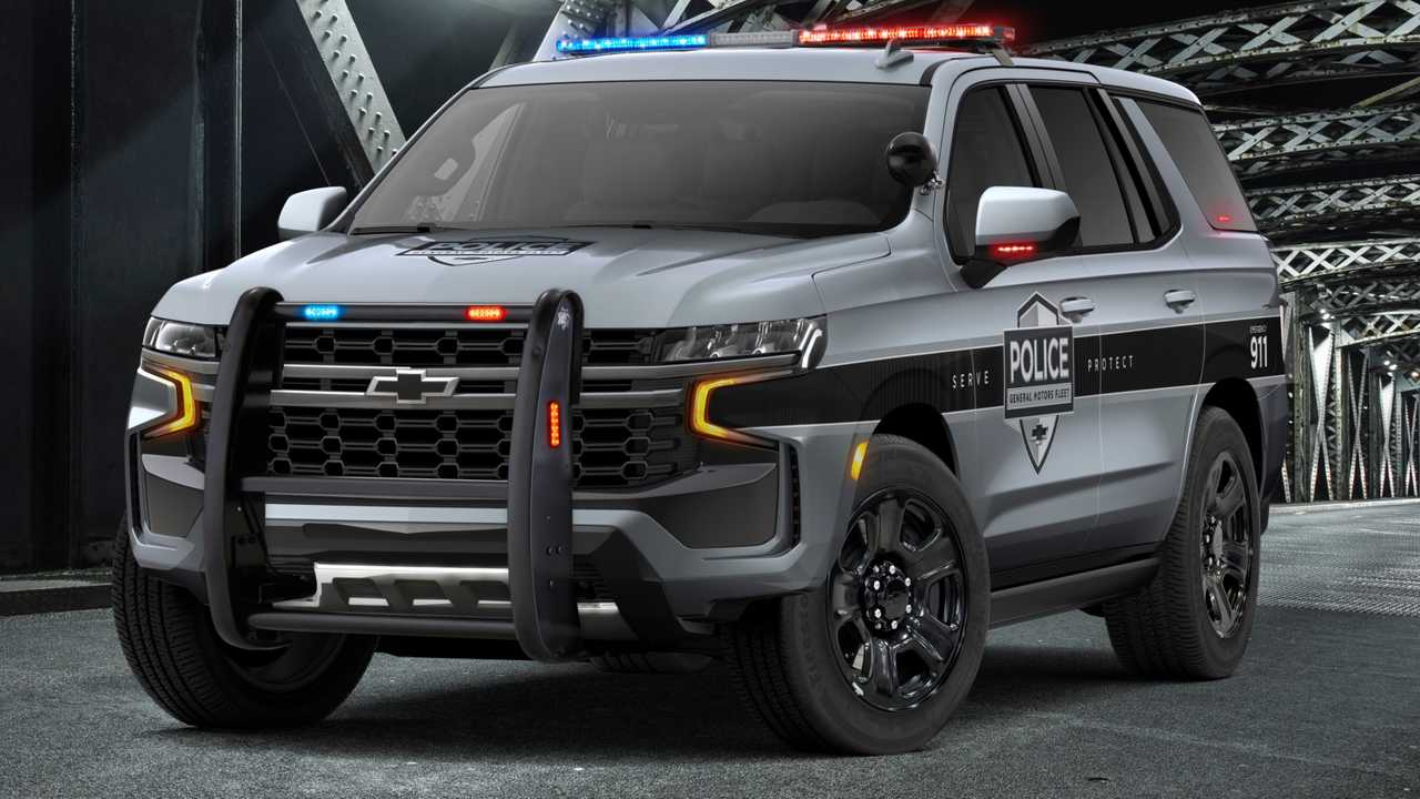 2021 chevrolet tahoe ppv fights crime with cop motor
