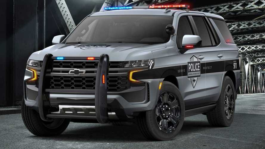 2021 Chevrolet Tahoe PPV Fights Crime With Cop Motor, Tires, Brakes