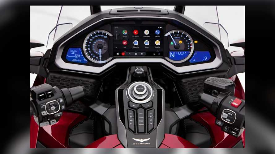 2020 Honda Gold Wing Android Auto Update