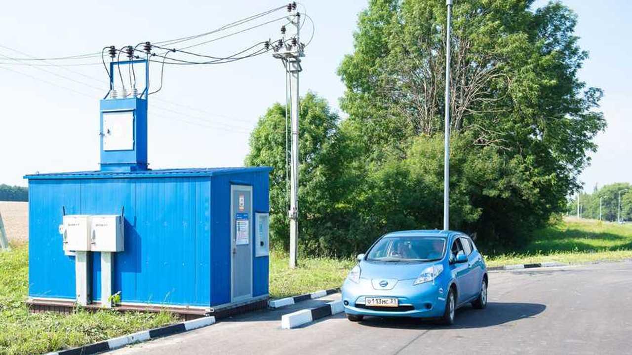 В Белгородской области открылись две бесплатные зарядки для электрокаров
