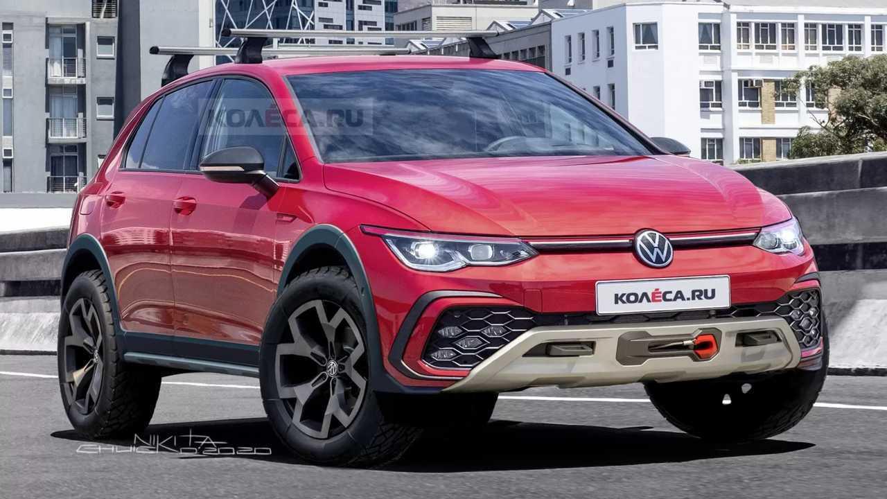 Volkswagen Golf Country Modern Rendering